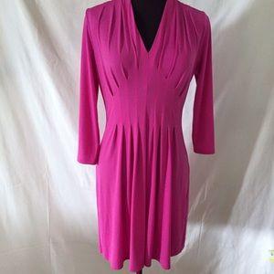 Catherine Malandrino Pink Retro Jersey Dress XS